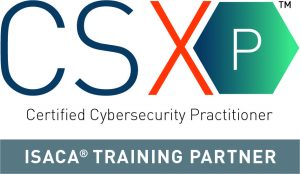 CSX Practitioner training: ISACA logo - Intrinsec