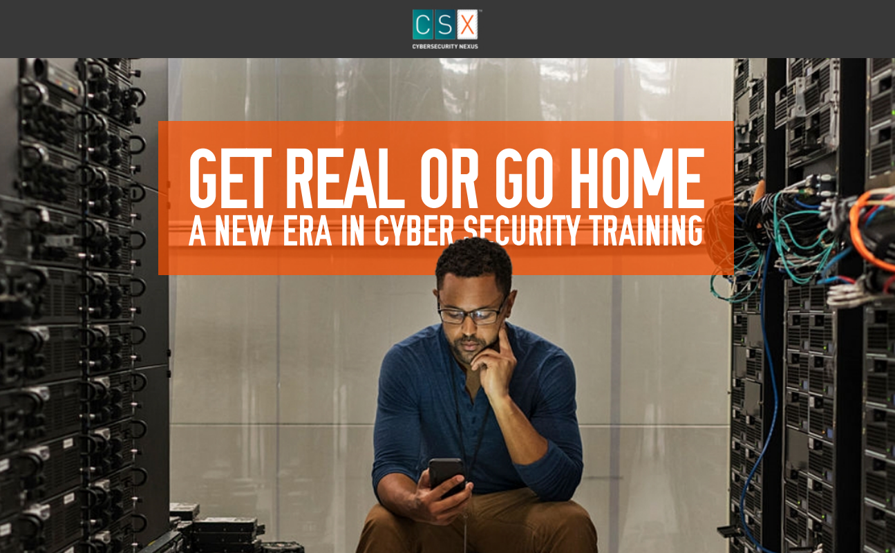 CSX Training Platform Infographic: Get Real or Go Home - Intrinsec