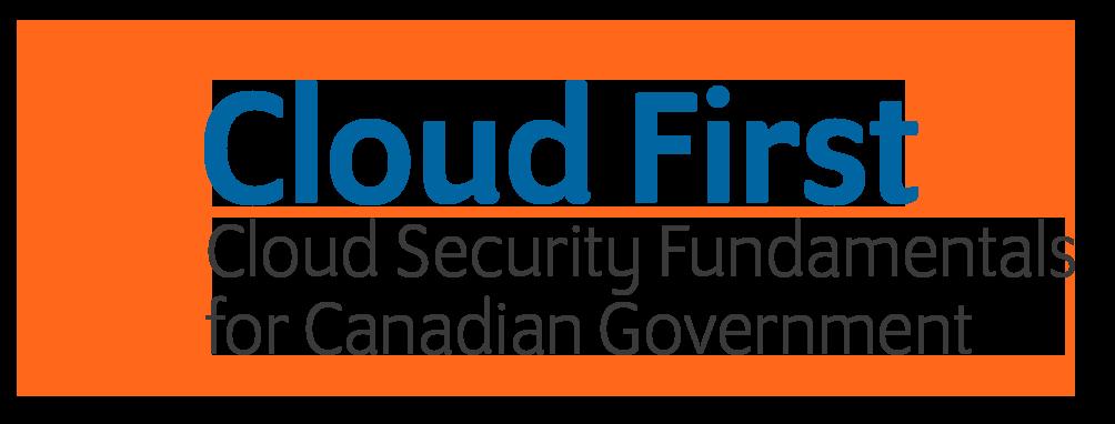 Cloud First Logo Fundamentals Logo