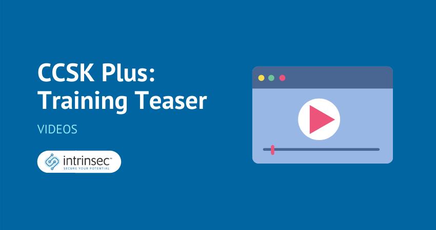 CCSK Plus video thumbnail