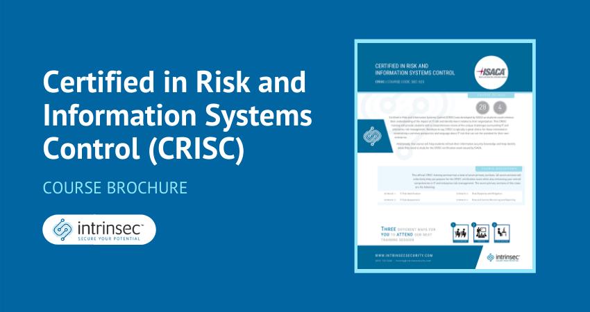 CRISC brochure thumbnail