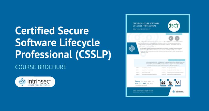 CSSLP brochure thumbnail