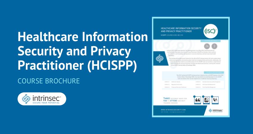 HCISPP brochure thumbnail